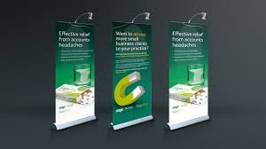 Pull Up Display Stands