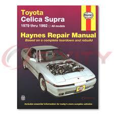 Toyota Supra Haynes Repair Manual Turbo Base Shop Service Garage ...