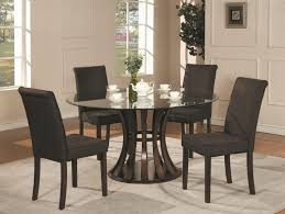 Dining Room Simple And Minimalist Black Dining Room Sets With - Modern wood dining room sets