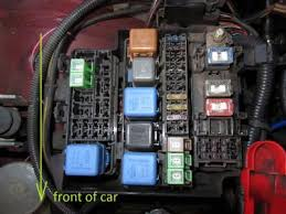 what is this wire into s14a fuse box??? how to wire into a fuse box in a car hi guys, can anyone tell me what the wire that bolts into the corner of the s14a fuse box does, it can be seen in the top right corner of this picture