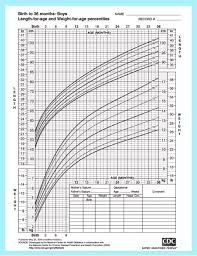 Baby Size Chart Percentile Baby Size Chart For Clothes Growth And Development Of A Baby