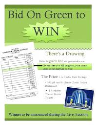 silent auction program template planing best planning fundraising tools ideas images on c exle
