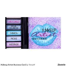Makeup Artist Business Cards Ideas Resumess Franklinfire Co