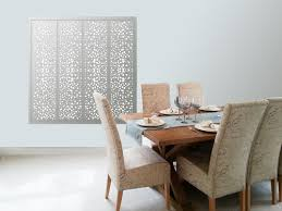 ... White Decorative Perforated Circles Window Shutters ...