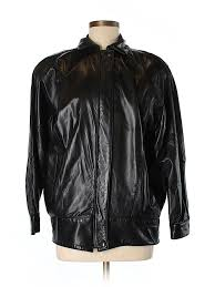 pin it saks fifth avenue women leather jacket size s