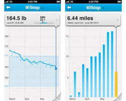 Chart Graph Data Visualization Example Withings Health Mate