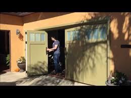 garage doors san diegoSliding Bifold Carriage Garage Doors San Diego  YouTube