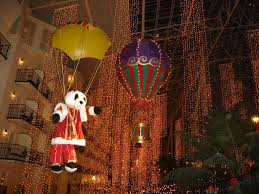 Christmas and the New Year at the Opryland in Tennessee ...