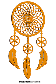 What Does Dream Catchers Do Meaning of Dream Catcher and Printable Vector Pattern 86