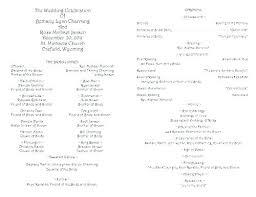 Wedding Program Scroll Scroll Wedding Program Programs Templates Jwintz