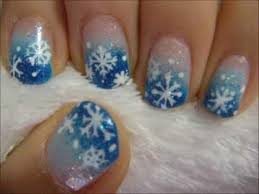 winter-nail-art-designs-Nice-background - Fashion Fuz
