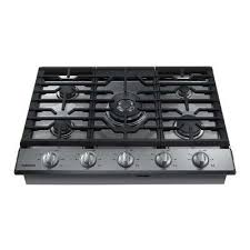 gas stove top with griddle. Gas Cooktop In Stainless Steel With 5 Burners Including Power Burner WiFi Stove Top Griddle O