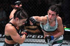 Marina Rodriguez vs. Mackenzie Dern full fight video highlights - MMA  Fighting