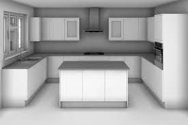 U Shaped Kitchen Designs With Island New Decoration