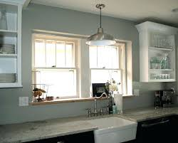 over the sink lighting. Kitchen Cabinets Over Sink Glossy Above Lighting Bright Lamp Lights The H