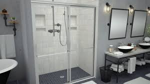 barrier free shower awesome redi walk in models for 6