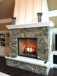 replace gas fireplace insert how install gas fireplace insert cost