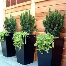 outdoor large planters large tapered square planters fiberglass planters by jay pots planters more large outdoor