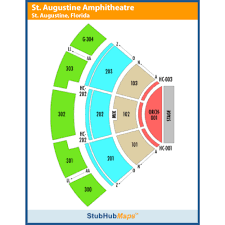 St Augustine Amphitheater Seating Chart Seating Chart St