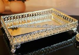 How To Decorate Trays For Indian Wedding India wedding decoration silver trays glass food trays for hotel 42