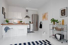 40 Small One Room Apartments Featuring A Scandinavian Décor Fascinating Kitchen Apartment Design