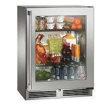 24 sotille series outdoor refrigerator w glass door left hinge