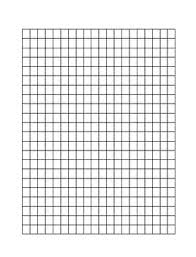 Grapg Paper 1cm By 1cm Graph Paper