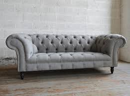 chesterfield sofa images. Exellent Sofa Handmade Grey Romford Wool Chesterfield Sofa Intended Images