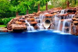 Outdoor pool with slide Fancy Luxury Outdoor Pool Slides Custom Pool Slides Custom Pool Slides Summit Usa Commercial Luxury Custom Pool
