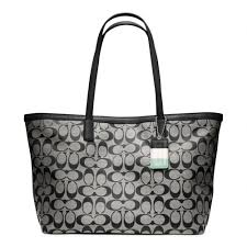 Lyst - Coach Legacy Weekend Signature C Medium Zip Top Tote in Black