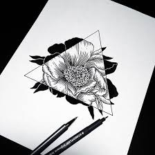 Small Picture art beautiful black and white daisy drawing flower pen real
