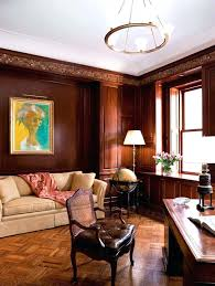 office wood paneling. Mahogany Wood Paneling Panel Office Wall Traditional Floor Lamp Home With .