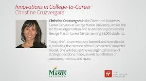 innovations in college to career christine cruzvergara on vimeo