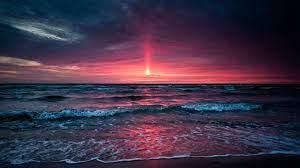 Sunset Beach Background Aesthetic ...