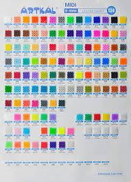 Bead Color Chart Amazon Com Artkal Fuse Beads 134 Bags Full Colors Set S 5mm