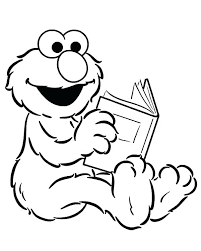 Sesame Street Birthday Coloring Pages Sesame Street Coloring Pages