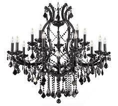 black crystal chandeliers black chandelier chandelier for locker