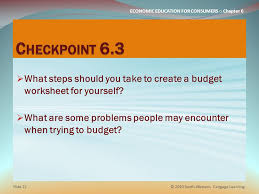 CHAPTER 6 BUDGETING How Will You Use Your Money? - ppt download