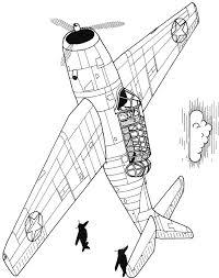 Kinderpleinen Vliegtuigen Kleurplaten
