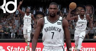 NBA 2K20 Kevin Durant Cyberface by 虐面 ...