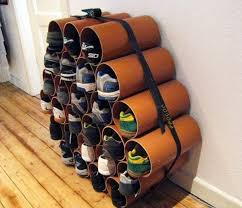 How to Build a Low-Cost Shoe Rack Using PVC Pipes  MacGyverisms ::  WonderHowTo