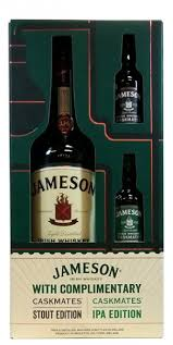 jameson 750ml with plimentary 50ml single serving stout ipa caskmates gift box mid valley wine liquor