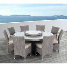 round outdoor dining table for 8 ii 9 piece aluminum round outdoor dining set with cushions round outdoor dining table