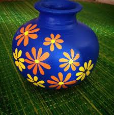 Designs For Flower Pot Painting Pot Decoration Pottery Painting Designs Vase Crafts