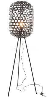 Staande Lampen Tripod Bamboe Verlichting Living Shop Stijlvol