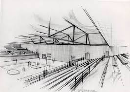 architectural drawings. A Perspective Sketch Can Give You Feel For Space, But Is Not Usually Architectural Drawings Archology