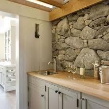 stone kitchen backsplash. Stacked Stone Kitchen Backsplash T