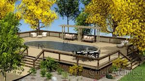Creating a Deck Around an Above ground Pool or Spa