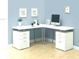 corner computer desk workstation intended for ideas bestar hampton tuscany brown black