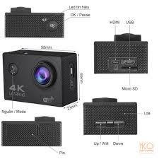 Camera hành trình 4K Ultra HD Wifi + Remote điều khiển
